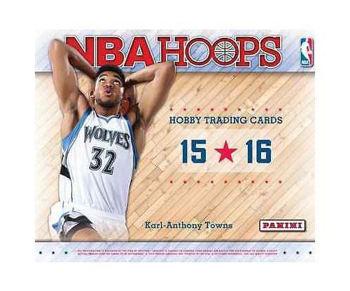 73c4578b16884 2015/16 Panini Hoops Official NBA Basketball Cards Hobby Box - 24 packs of  12 cards each!! by Hoops NBA Basketball