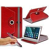 (Rouge) Etui fin et pliable pour Tablette Acer Aspire commutateur 10 [10,1 pouces]...