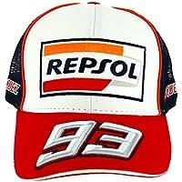 HONDA Repsol Marc Marquez 93 Moto GP Baseball Gorra Trucker Oficial 2018 4e067b9d816