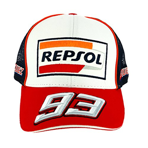 HONDA Repsol Marc Marquez 93 Moto GP Baseball Gorra Trucker Oficial 20