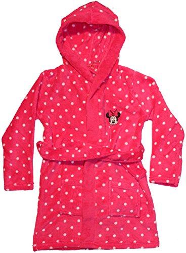 Disney Minnie Mouse accappatoio-Vestaglia con Cappuccio Pink 128/134 cm