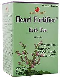 Health King Medicinal Tea Tea Heart Fortifier 20 bag ( Multi-Pack)