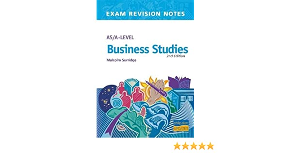AS/A-level Business Studies (Exam Revision Notes): Amazon co