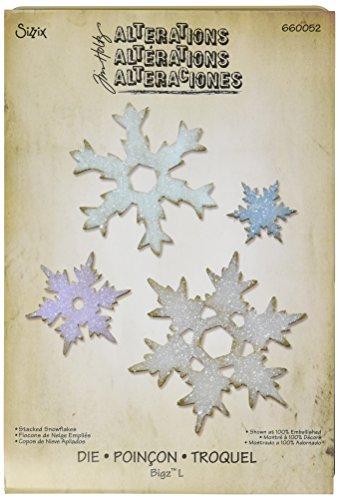 Bigz L Fustella - Fiocchi di Neve di Tim Holtz