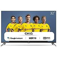 "CHiQ Televisor Smart TV LED 32"", Android 9.0, HD, WiFi, Bluetooth, Google Play Store, Google Assistant, Netflix, Prime Video, HDMI, USB - L32H7A"