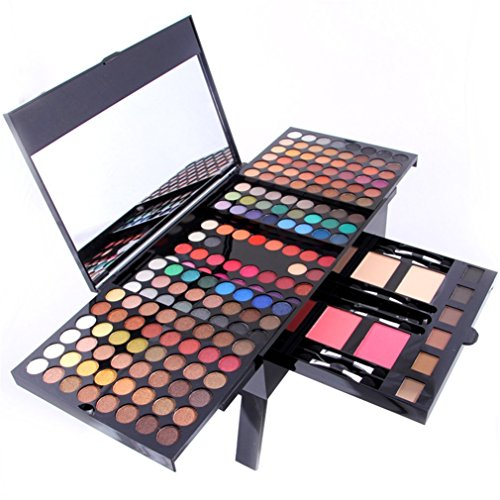 Pure Vie® 180 Colores Sombra De Ojos Paleta de Maquillaje Cosmética - Perfecto para Sso Profesional y Diario