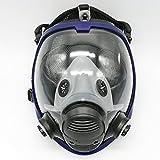 Máscara gas 6800 de cara completa, unidad facial, respirador, adecuado para aspersión de pintura