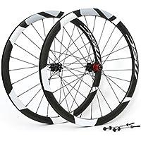 MSC Bikes MSC700CAR24H Juego de Ruedas, Negro/Black, 700
