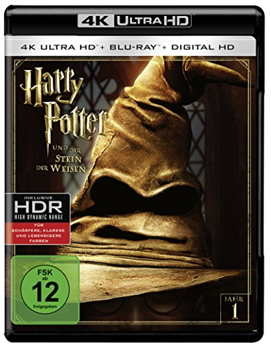 Harry Potter und der Stein der Weisen - Ultra HD Blu-ray [4k + Blu-ray Disc]