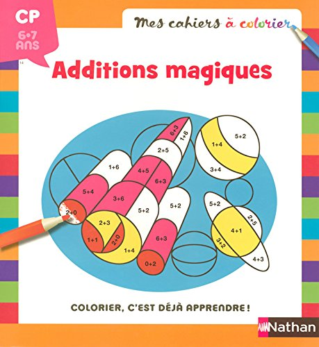 MES CAHIERS A COLORIER ADDITIO