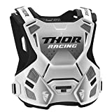 Thor Guardian MX Roost Deflector Motocross Brustpanzer Spring 2018 - Weiss...