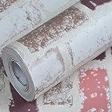 REAGONE Pvc Self Adhesive Tapete Tapete für den Hintergrund der Landschaft und warmen Wasserbett europäischen Stil Wohnzimmer Große Mengen, 10 M P5237 Light Brown Brick, Large755078