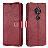 Case Collection Premium Leather Folio Cover for Motorola