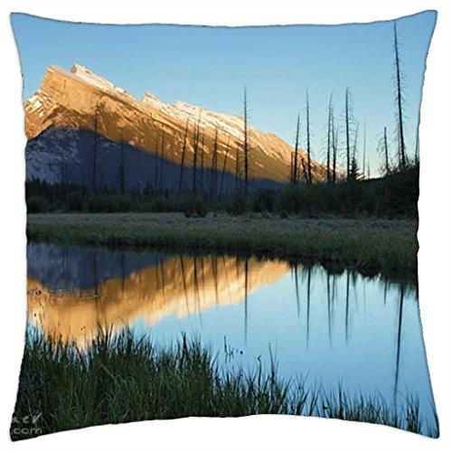"iRocket - Alpine Glow - Throw Pillow Cover (18"" x 18"", 45cm x 45cm)"