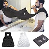 Lifestyle Beard Bib for Shaving and Beard Shaper, Suction Cups Included, Keep your BathroomCounter Clean, Suitable for Every Man, Easy to Pack for Travel, Time Saving, Easy to Use, Unique Gift idea