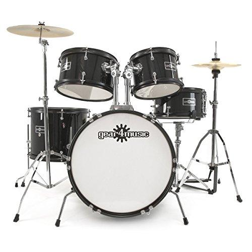 junior-5-piece-drum-kit-by-gear4music-black