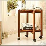 Wisdom Regale & Aufbewahrung Haushaltswaren runder Tisch Seitenhalle hoch Kaffee Wein Flur Möbel robust langlebig