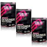 ESN Designer Whey Protein, Peanut Butter Cookie Dough, 3er Pack (3 x 1000g)
