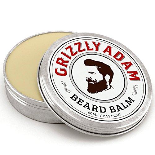 Grizzly Adam Baume à barbe pour homme – 100% naturel laisser en revitalisant avec huile naturelle pour de meilleurs Moustache Toilettage Et Barbe en pleine Croissance
