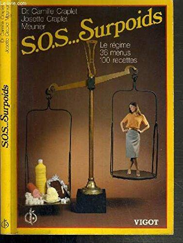 S.O.S.... SURPOIDS - LE REGIME - 36 MENUS - 100 RECETTES