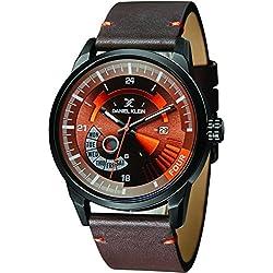 Daniel Klein Analog Brown Dial Men's Watch-DK11298-5