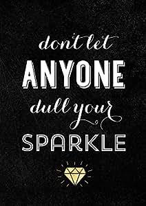 meSleep Sparkle Quote Poster