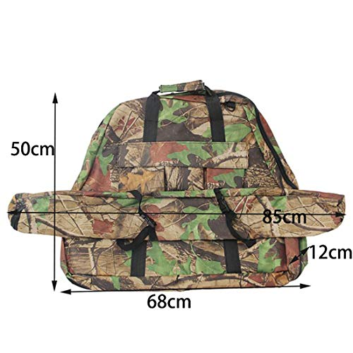YJYWZH Triangle Bow Case Composite Bow Bag with Köcher Hand Carry Bow Bow and Arrow Bag Holder, Camouflage Composite Case
