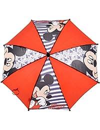 Parapluie enfant garçon Mickey Mouse Rouge/marine diamètre 65cm