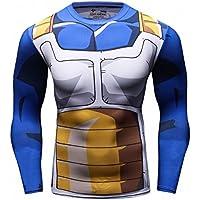 Cody Lundin Tops fitness apretado superhéroe impresa logo deporte hombre mix color hombres largo manga camiseta