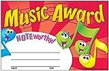 30 x Music Award Certificates