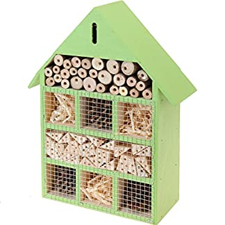 30X23X8 CM Insect Hotel Nesting Box Wild Bees Bee Insect Hotel 51P eMwXYLL