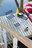 Lafuma kompakter Klapphocker für unterwegs, PH Camping & Beach, Océan (Dunkelblau), LFM1390-3862 -