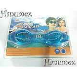 Hanumex Anti-Fog Swimming Goggles (Blue)