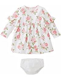 ab724c478c55 Mud Pie Baby Girl Floral Dress with Bloomer Children Apparel (9-12 Months)
