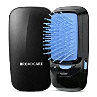 La spazzola con la tecnologia ione negativo è più conveniente di portare in viaggio rispetto con la spazzola termica visto che la più piccola dimensione. Anche funziona bene per districarsi i capelli, ne spezza ne tirai capelli.Colore Come da...