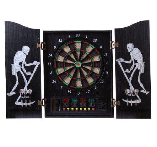 Homcom® Elektronische Dartscheibe Dartboard Dartscheibe als Geschenk NEU 64 (Turnier-dartscheibe)