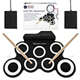 WICKED GIZMOS ® Electric Drum Mat - Portable Roll Up Digital Music Pad