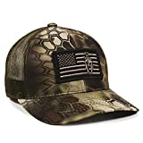 Kryptek Mandrake USA Flagge Patch Mesh Back Angeln, Jagd, Military Cap