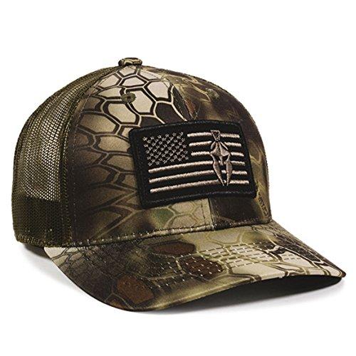 Kryptek Mandrake USA Flagge Patch Mesh Back Angeln, Jagd, Military Cap Usa-mesh-hut