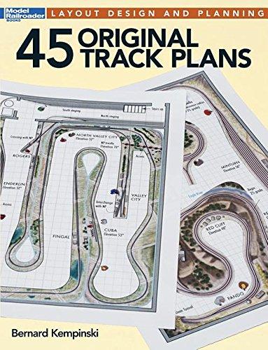 45 Original Track Plans (Model Railroader)