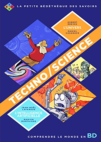 Techno/Science : Pack en 2 volumes : L'intelligence artificielle ; L'univers