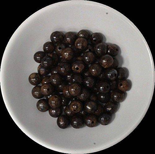 Perlas Broncita 6mm–Bolsita de 66perlas