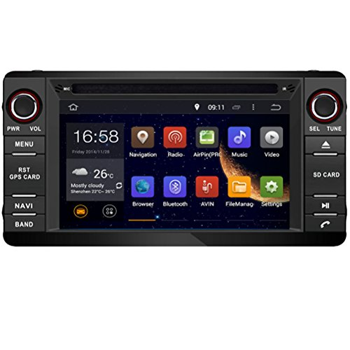 Top Navi 7inch 1024*600 Android 5.1.1 Car DVD Player for