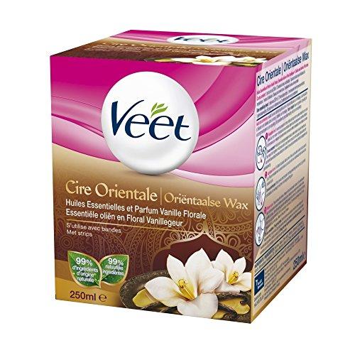 Veet - Cire Orientale aux Huiles Essentielles - 250 ml