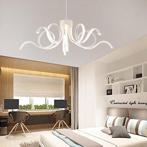 Kronleuchter Lüster Hängelampe Pendelleuchten LED Moderne Fernbedienung  Dimmen Schlafzimmer Wohnzimm