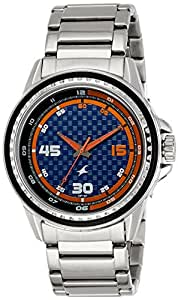 Fastrack Analog Blue Dial Men's Watch-3142SM02