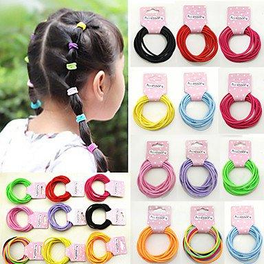 gzhuang der neuen Kinder-Haar Zubehör Baby klein HAN Edition Elastic Hair Bands Mädchen Haar Seil Holster Großhandel von 50/5Karte Mix