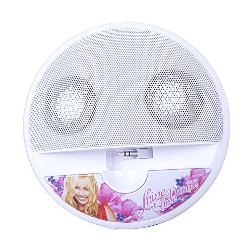 Disney DYPSHM5 Arkas Hannah Montana Lautsprecher für MP3/Apple iPod/Apple iPhone 3/3/4S/5 Mini Player/Handy/Notebook mehrfarbig