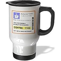 statuear Caffè prescrizione in acciaio inox 14-ounce Tazza Da