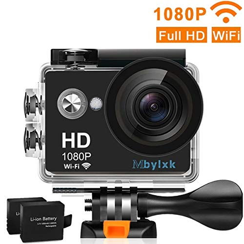Mbylxk Action Cam 1080P WiFi Sport Kamera